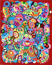 Как рисовать абстракцию? Научитесь создавать абстрактные рисунки акрилом
