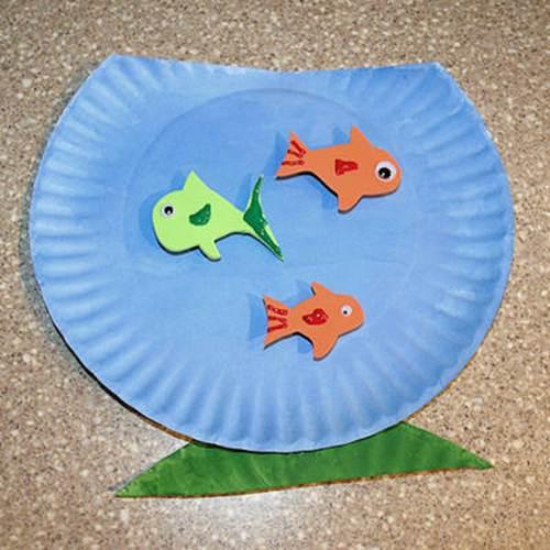 Поделка-аквариум