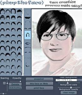 Рисуем лица вместе с сервисом PimpTheFace.