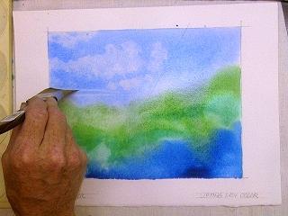 Кисти, которые Вы используете для нанесения краски, могут также быть полезны и для ее удаления