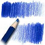 Чем сильнее нажатие на карандаш, тем насыщеннее получится цвет