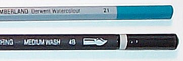 Виды акварельных карандашей