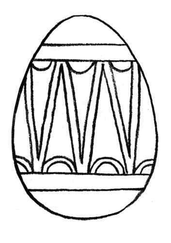 Пасхальное яичко