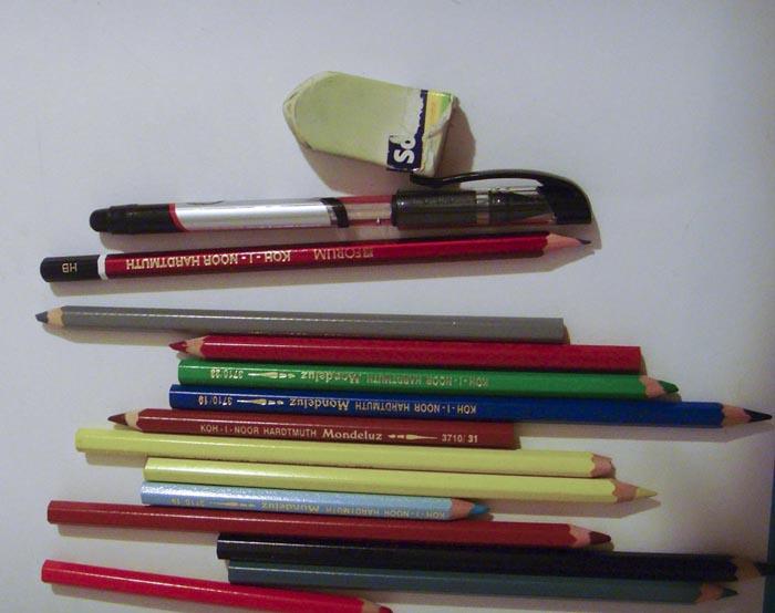 Приготовьте карандаши и бумагу