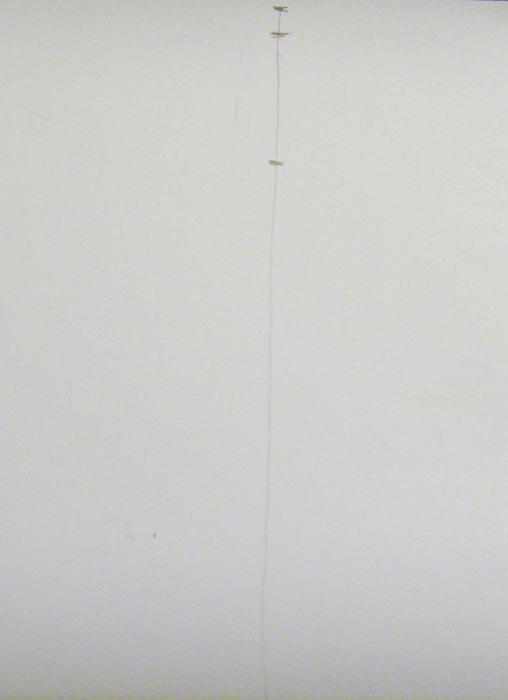 Начертите прямую линию и отметьте на этом отрезке размеры головы