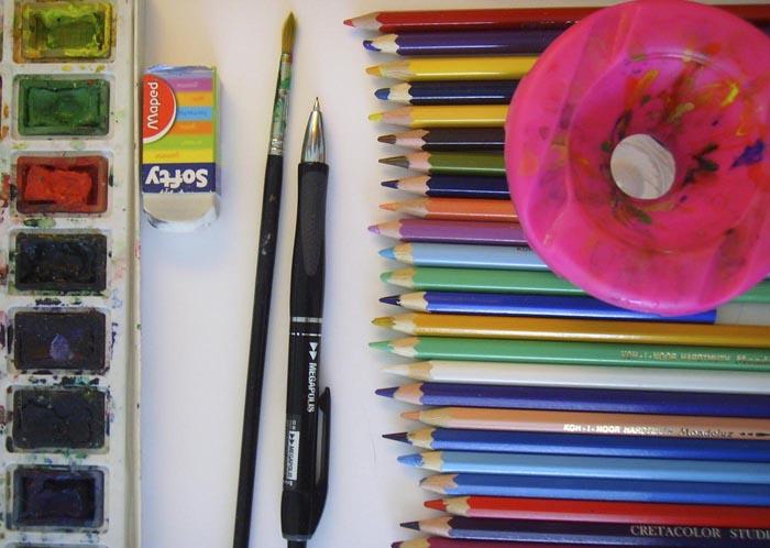 Возьмите кисточки и краски, будем рисовать хомяка