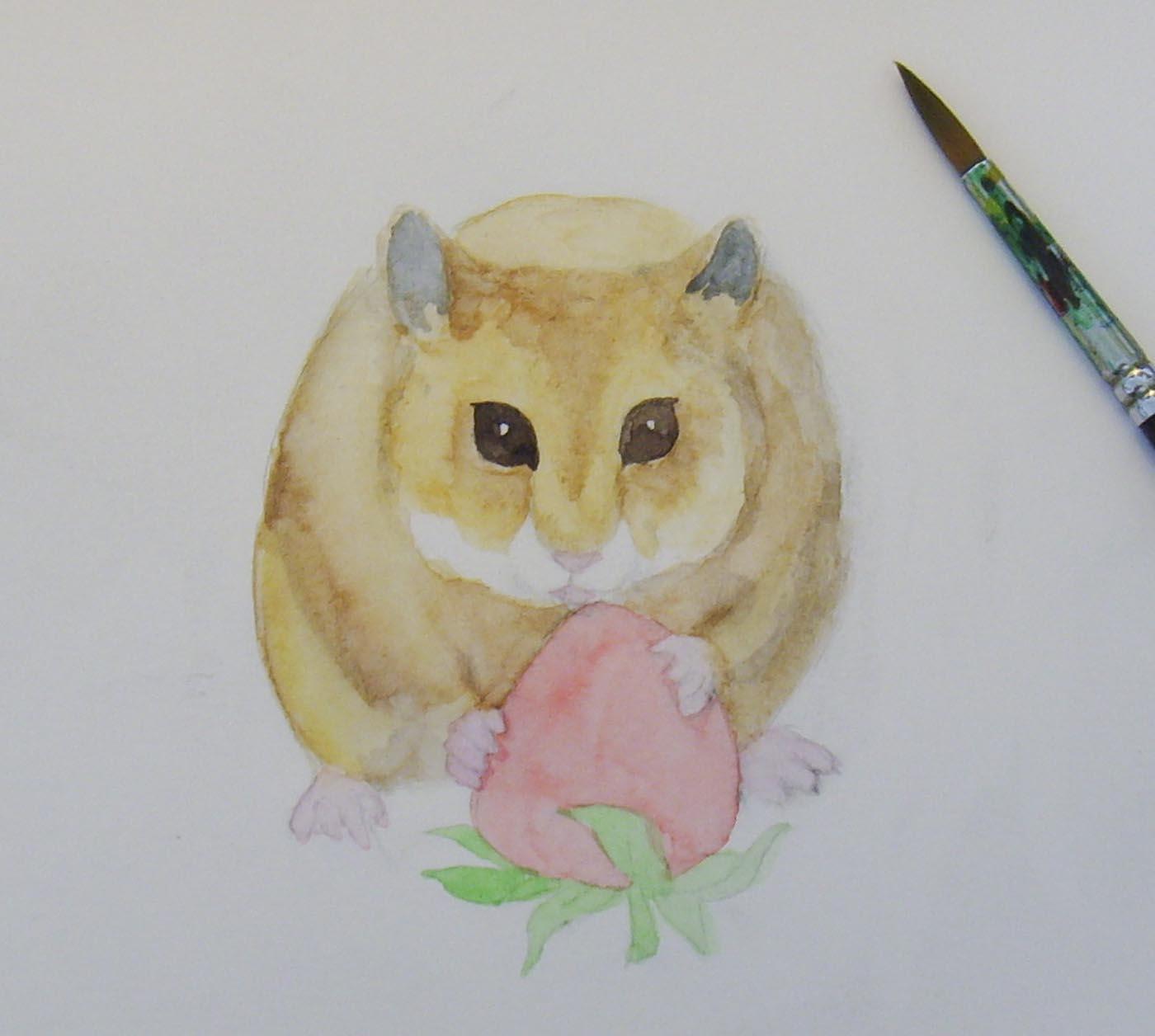Как рисовать хомяков карандашом поэтапно 39
