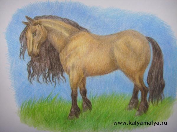 Как нарисовать лошадь?