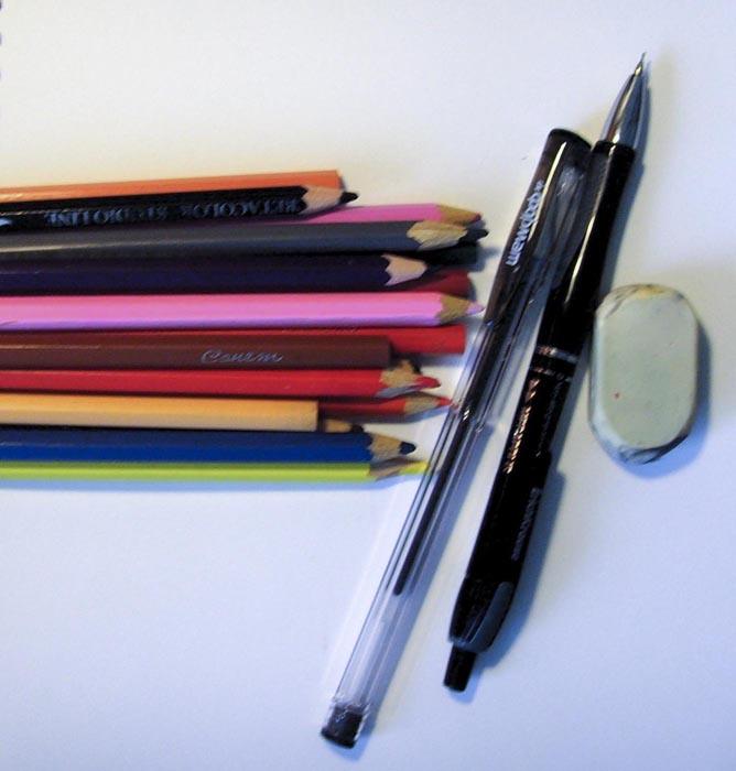 Приготовьте инструменты и материалы