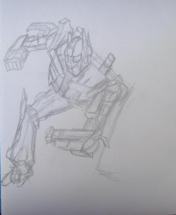 Более детально нарисуйте правую ногу