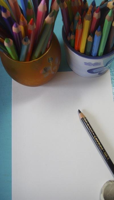 Для того чтобы нарисовать красивый пейзаж потребуются следующие материалы