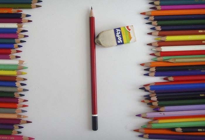 Приготовьте всё необходимое для рисования натюрморта