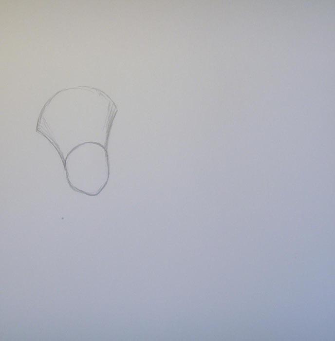 Нарисуйте голову Фаера