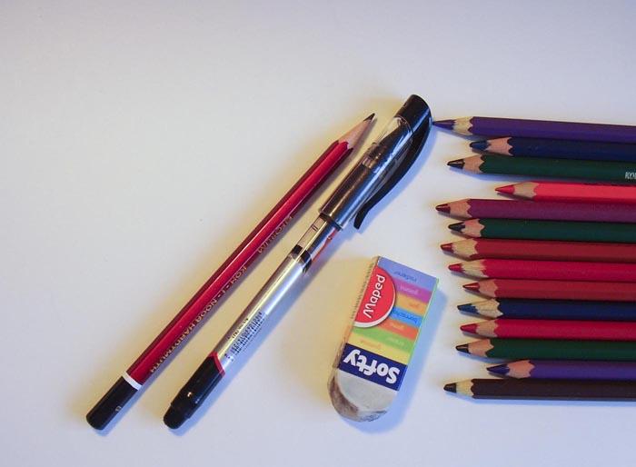 Приготовте всё необходимое для рисования