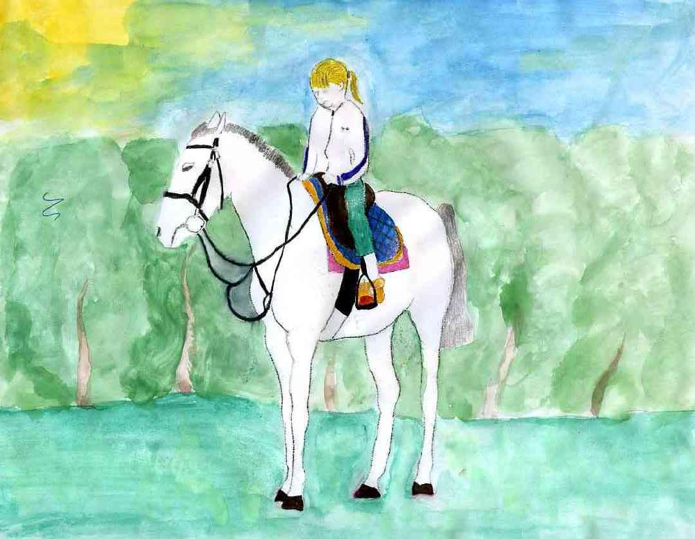 я и моя лошадь Варшава