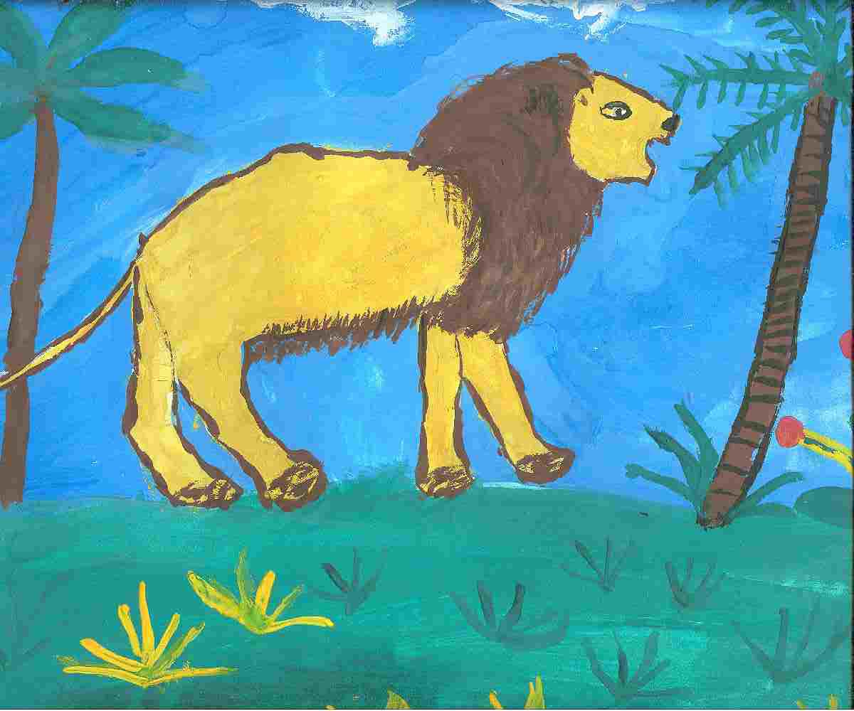 Лев для папы