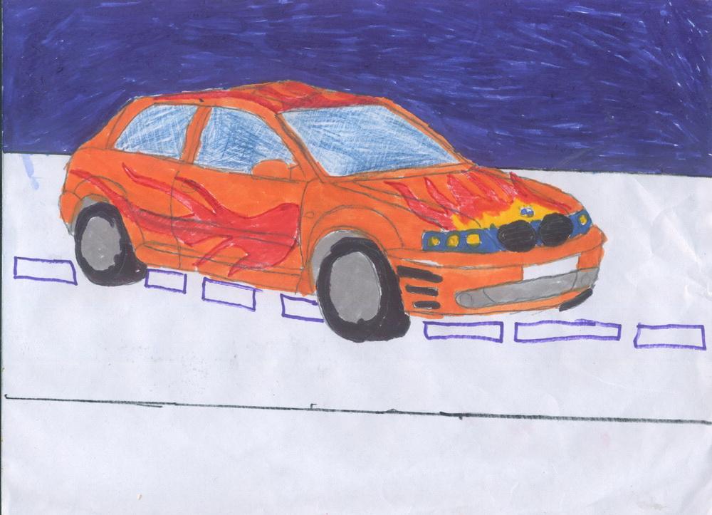 BMV на шоссе