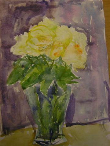 розы на День рождение бабушке