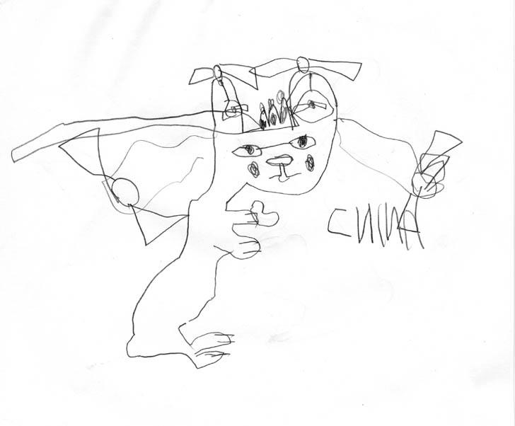 девочка-заяц