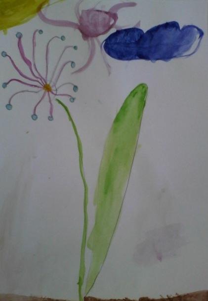 Необычный цветок.
