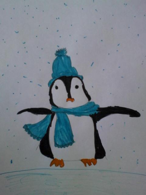 Пингвиненок.
