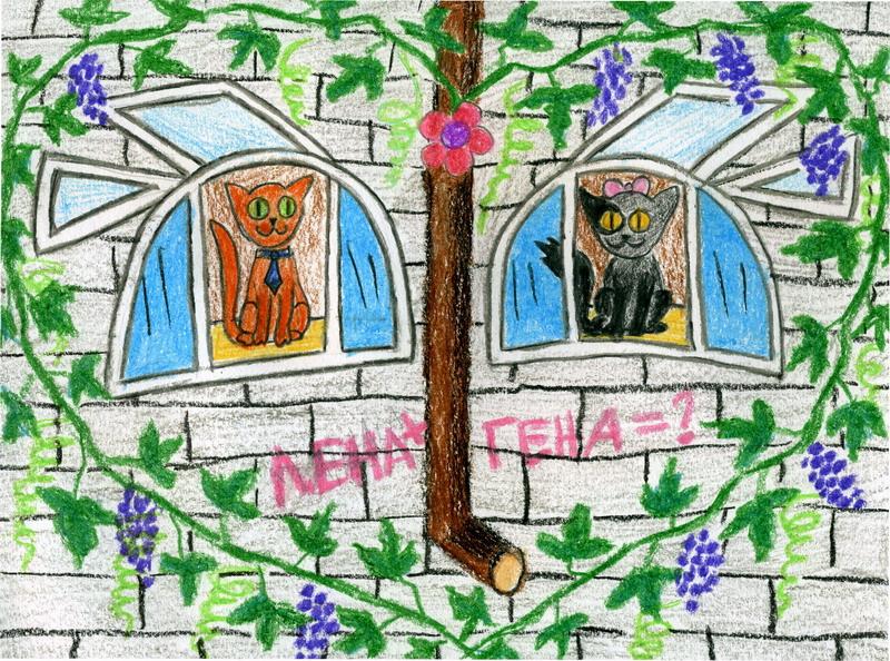 Влюбленные окна