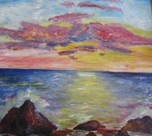 Самое синее море