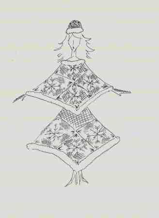 Костюм для внучки Деда Мороза