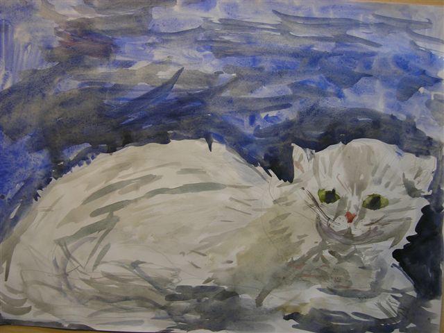 кошка роксана