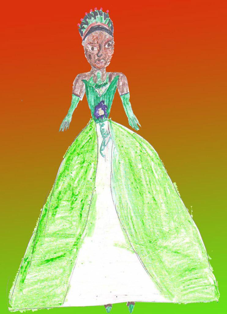 Принцесса лягушка.