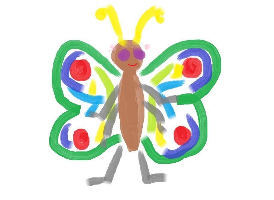 Бабочка!
