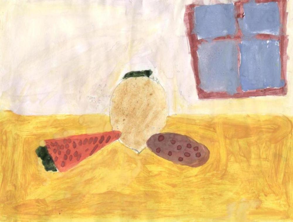 """натюрморт """"Овощи"""""""