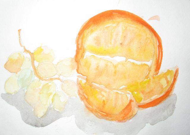 мы делили апельсин...))