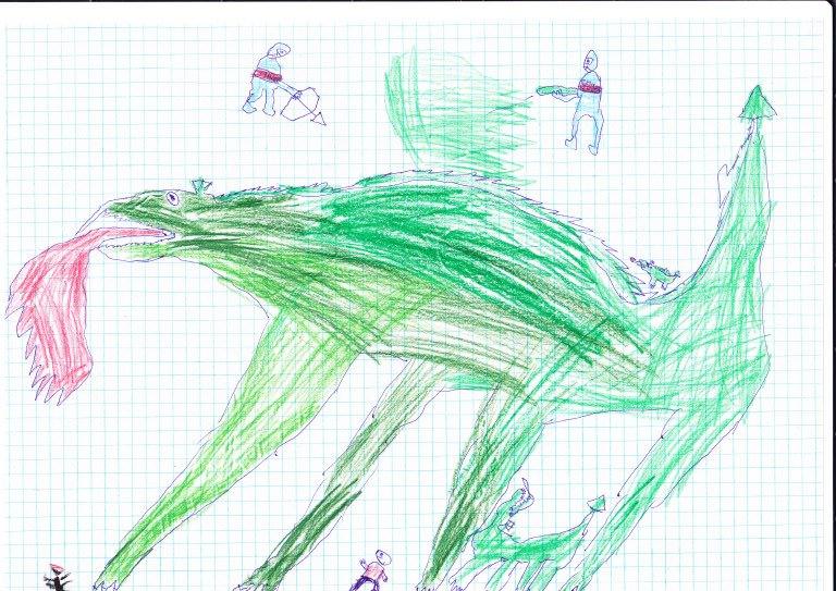Динозавр Петр