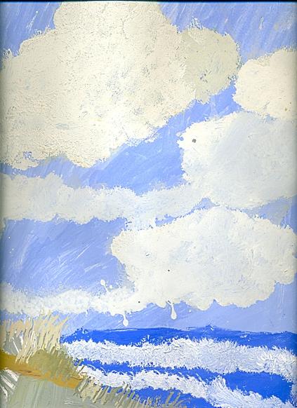 Море под облаками