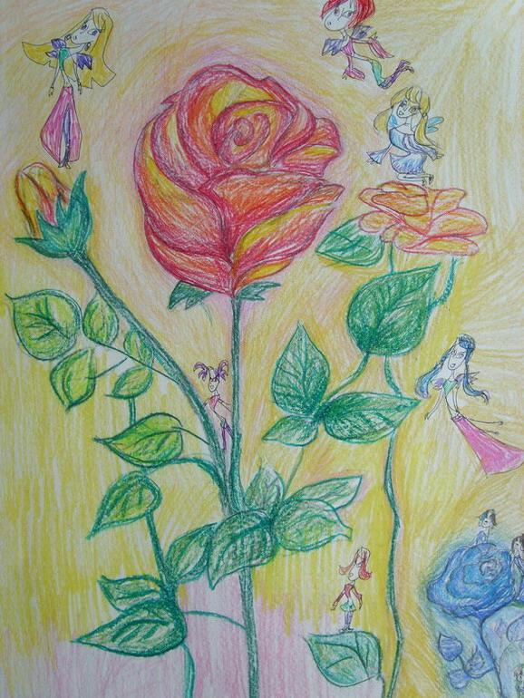 Розы и феи