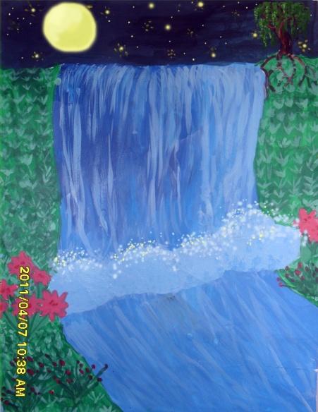 Лунный водопад
