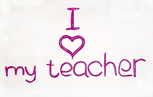 Я Люблю Моего Учителя