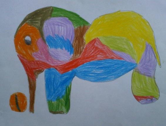 Веселый слоник.