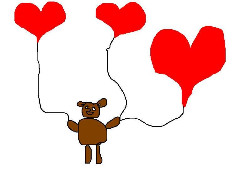 Любовь и мишка Барни