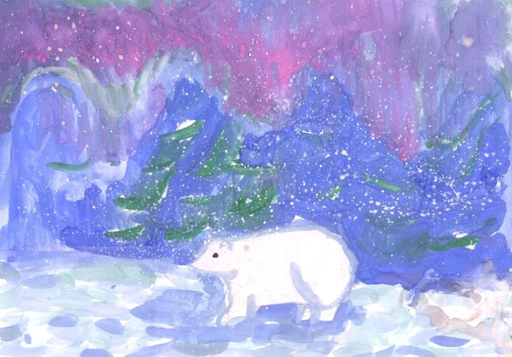 Мишка на севере