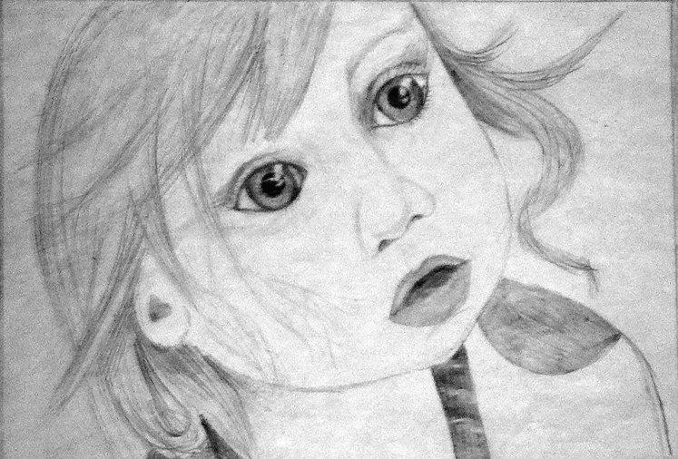Портрет сестрёнки