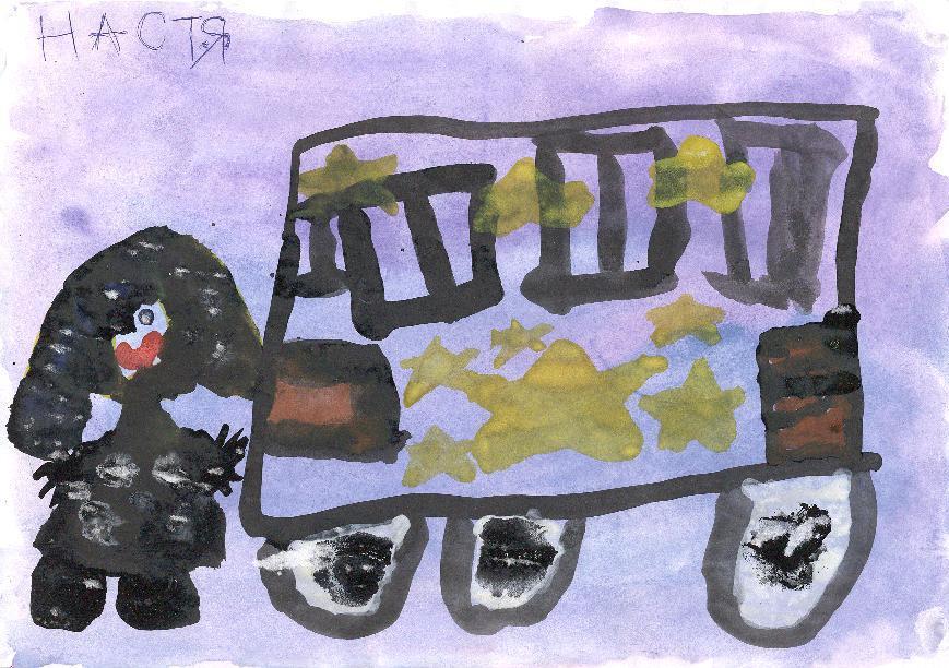 Автобус и пассажир