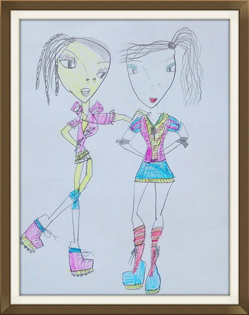 Девочки сестренки