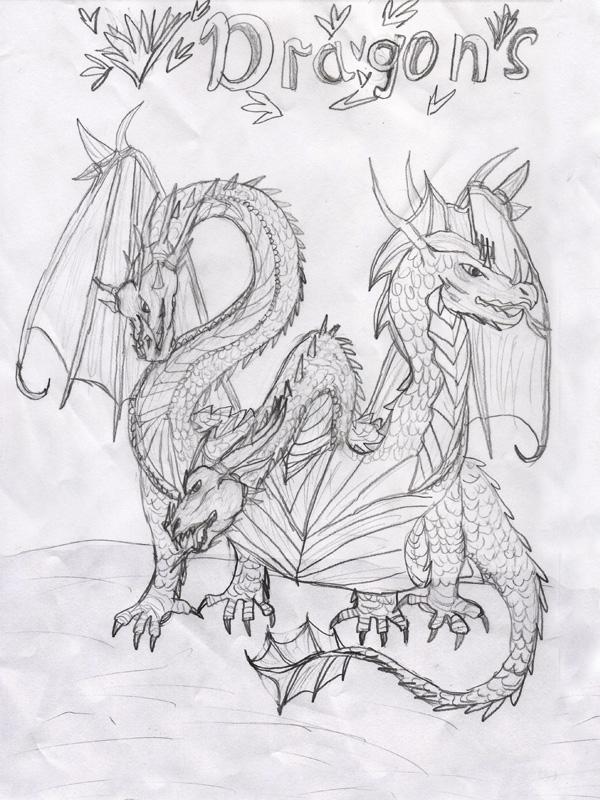 3-головый дракон