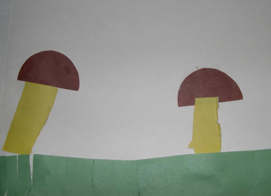Первые грибочки