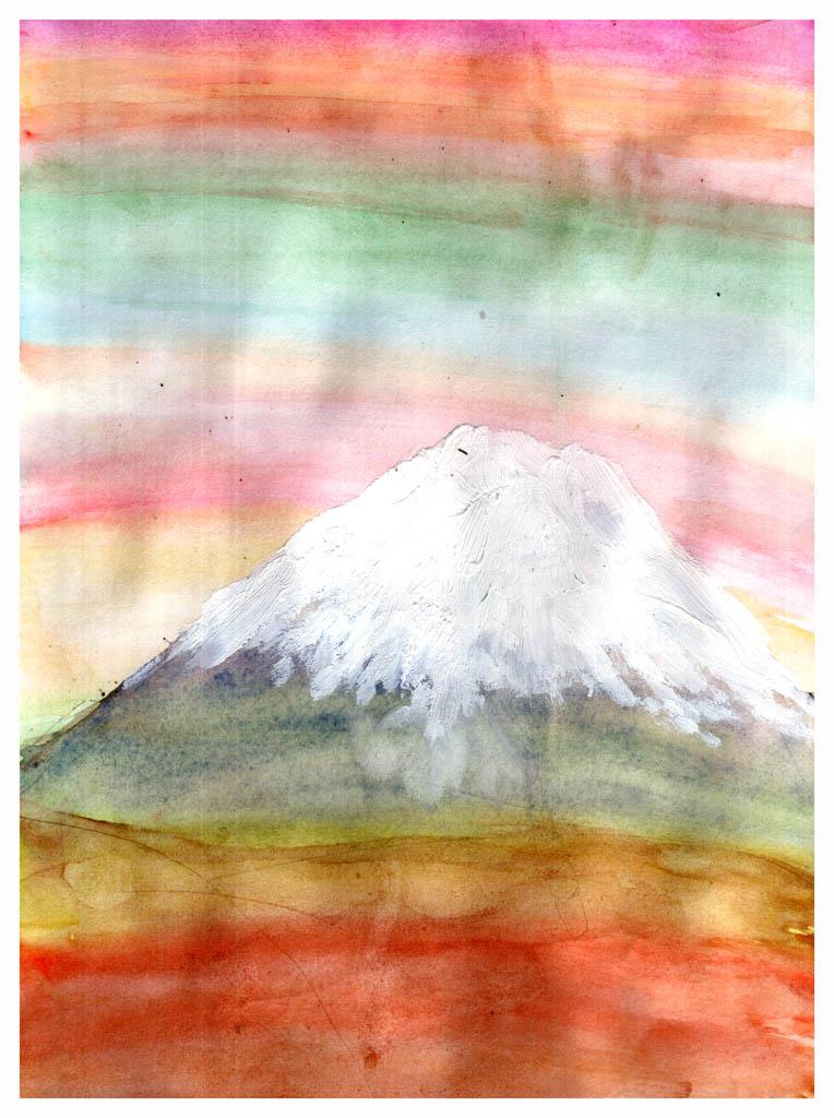 Гора Фудзи.