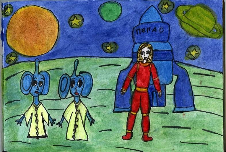 Космическая встреча