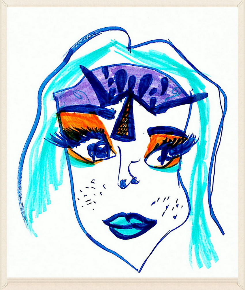 Минималистский портрет 2