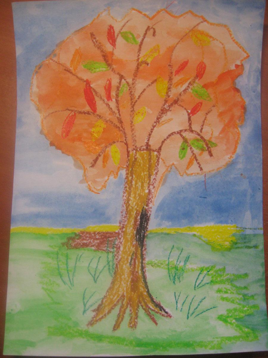 Дерево-дуб